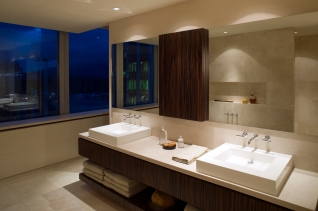 modern luxury bathroom penthouse condominium